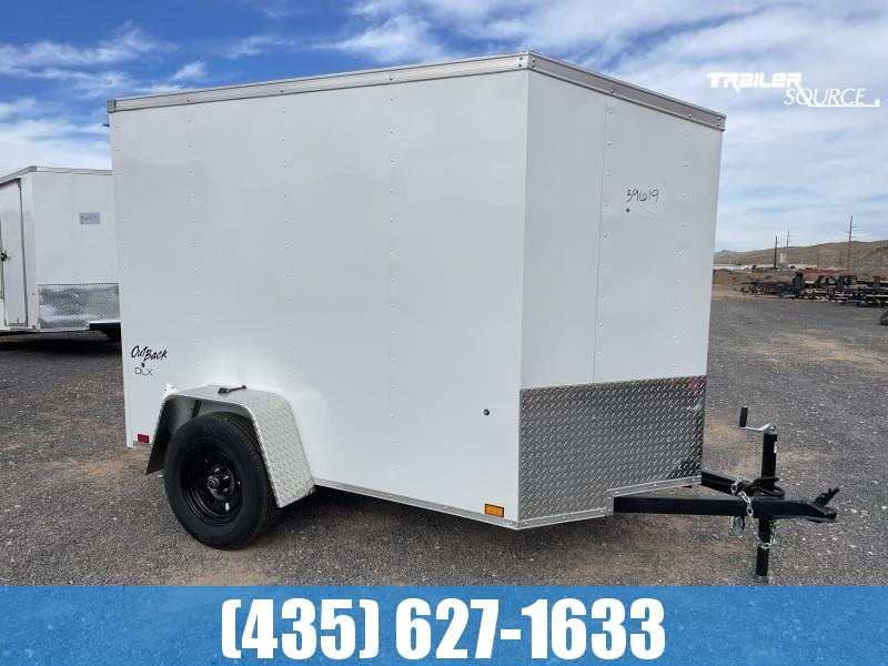 2022 Pace American 5x8 DSA Outback DLX Enclosed Cargo Trailer
