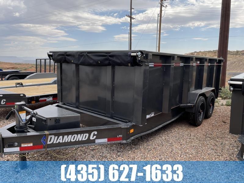 2021 Diamond C Trailers 7 x 16 LPD 207 Package Dump Trailer