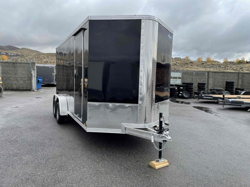 2022 EverLite Inc. 7x16 Aluminum Enclosed Cargo Trailer