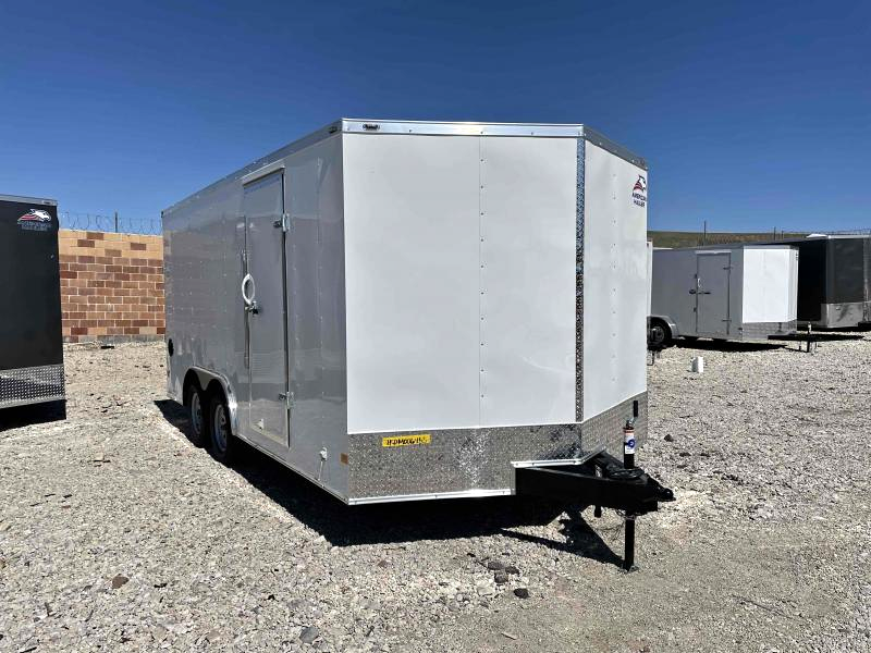 2021 American Hauler 8.5x16 Enclosed Cargo Trailer