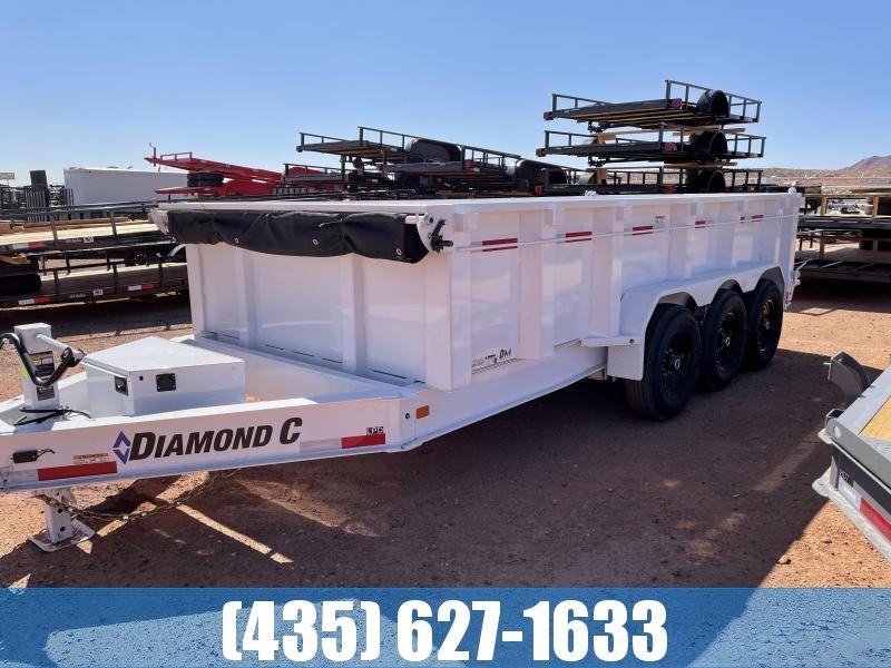 2021 Diamond C Trailers 7x16 307 LPD 620 Dump Trailer
