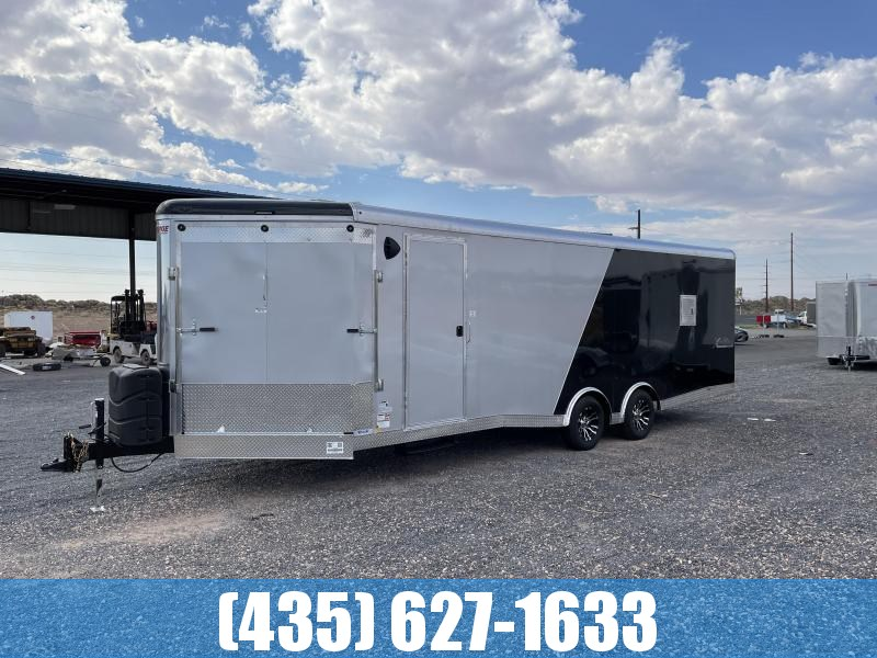 2022 Mirage Trailers XSP 8.5 x 28 Deluxe Snowmobile Trailer