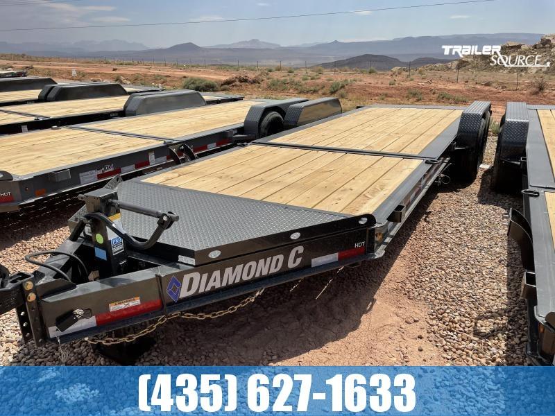 2022 Diamond C 7x24 HDT207(14.9K) Tilt Equipment Trailer