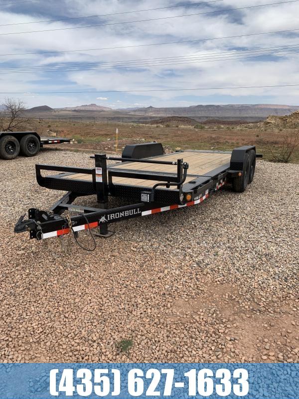 2021 Iron Bull TLB 7X20 14K Equipment Tilt Trailer