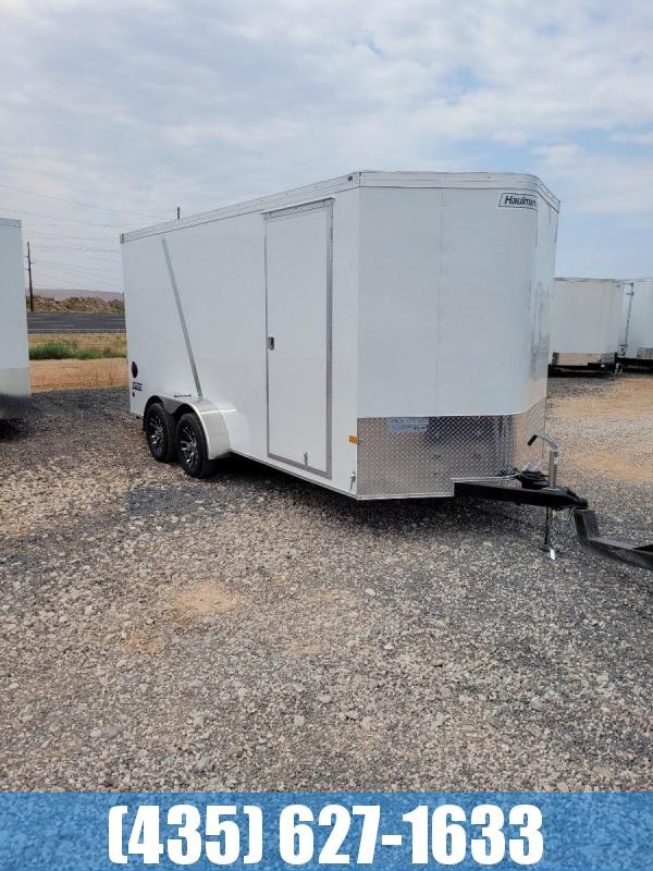 2022 Haulmark Transport 7x16 UTV Pkg Enclosed Cargo Trailer