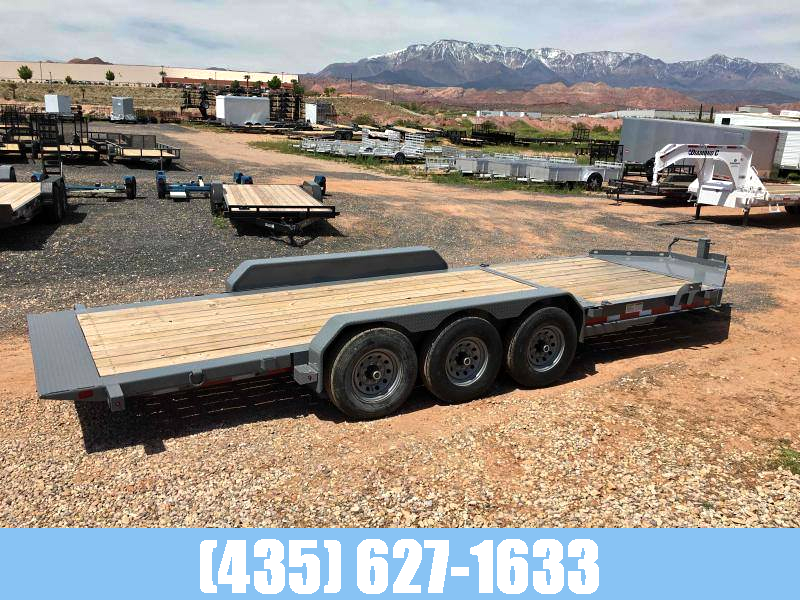 Diamond C 7x22 Triple Axle Tilt Trailer 24k GVW