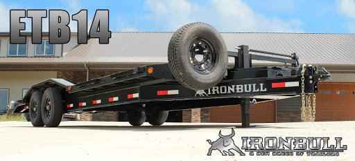 2021 Iron Bull WIDE 8X20 EQUIPMENT Trailer W/RAMPAGE RAMPS