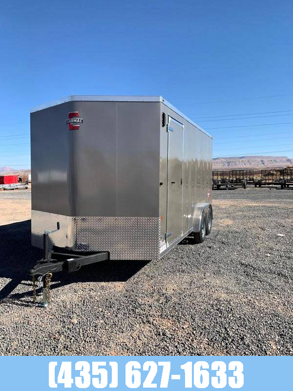 2021 Charmac Trailers STEALTH 7.5X16 UTV PACKAGE Enclosed Cargo Trailer