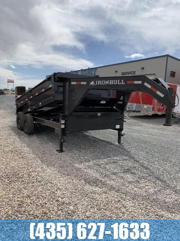 2021 Iron Bull 7x14 DTG Dump Trailer