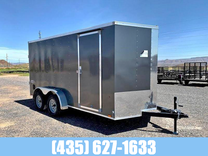 2021 Look Trailers Look 7x14 Element Tandem Axle Enclosed Cargo Trailer