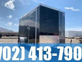 2022 6X12 NIGHT HAWK EDITION Cargo Trailer Enclosed Cargo Trailer