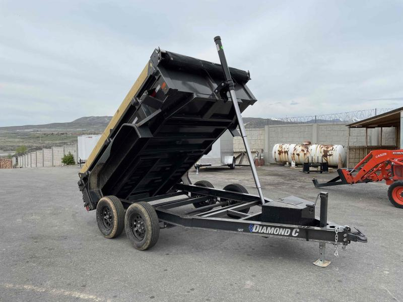 2021 Diamond C Trailers 77x10 Dump Trailer