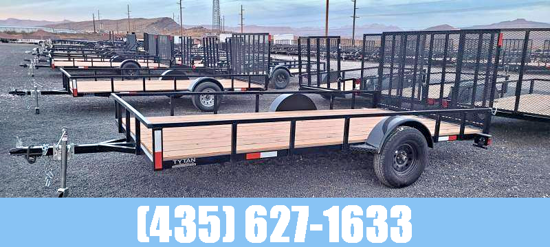 2022 7 Sons 7 x 14 Single Axle Utility Trailer with Gate