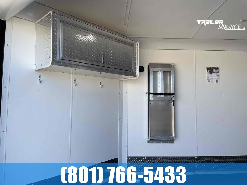 2022 Mirage Trailers 102x28 Deluxe Enclosed Cargo Trailer