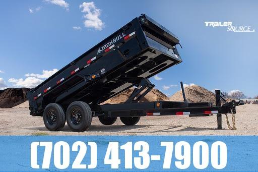 2022 Iron Bull DTB 7X16 16K Dump Trailer
