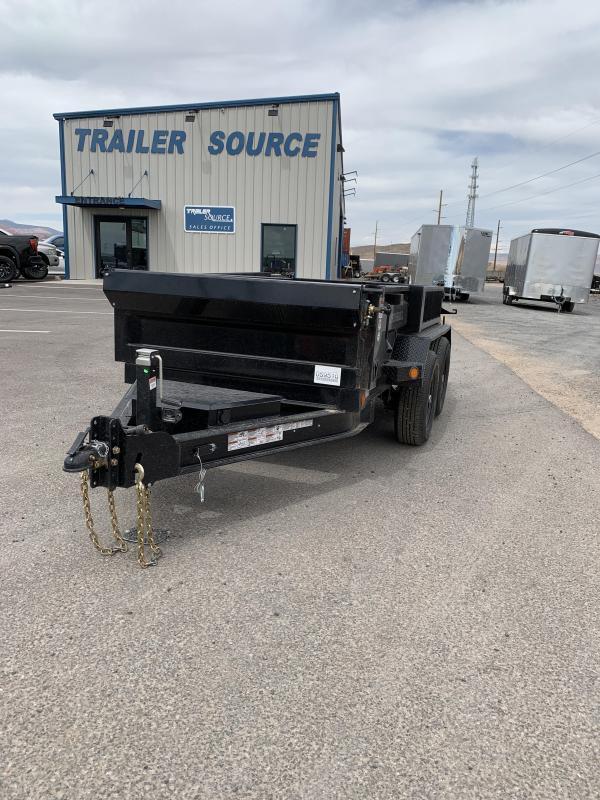 2021 Iron Bull DTB 5x10 10k Scissor Dump Trailer