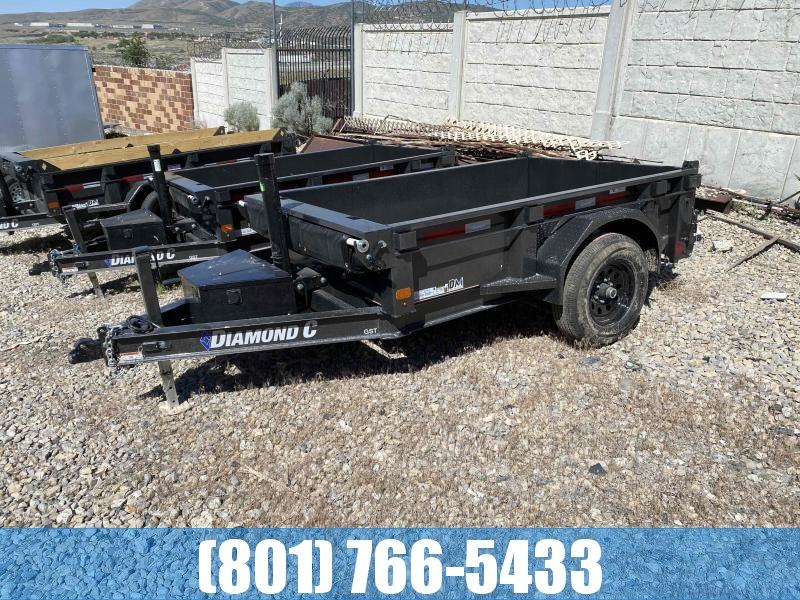 2021 Diamond C Trailers GST106 08X60 Dump Trailer