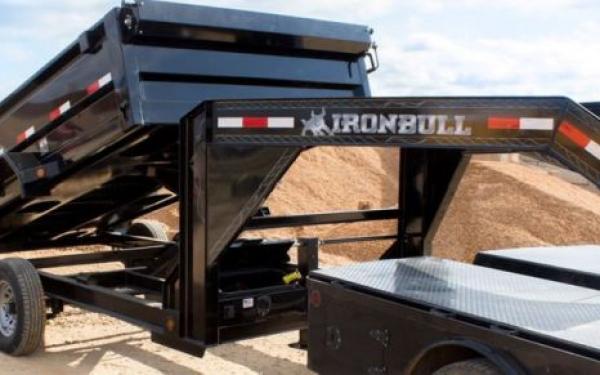 2021 Iron Bull DTB 7X14 GOOSENECK 14K Dump Trailer