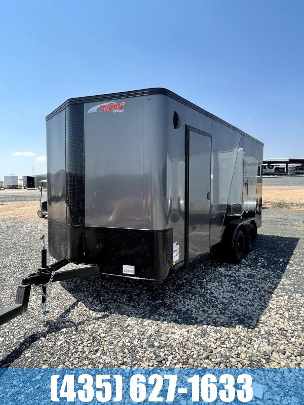 2022 Mirage Trailers 7.5x16 Side by Side Pkg Enclosed Cargo Trailer