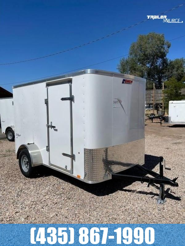 2022 Pace American 6X10 Barn Doors Enclosed Cargo Trailer