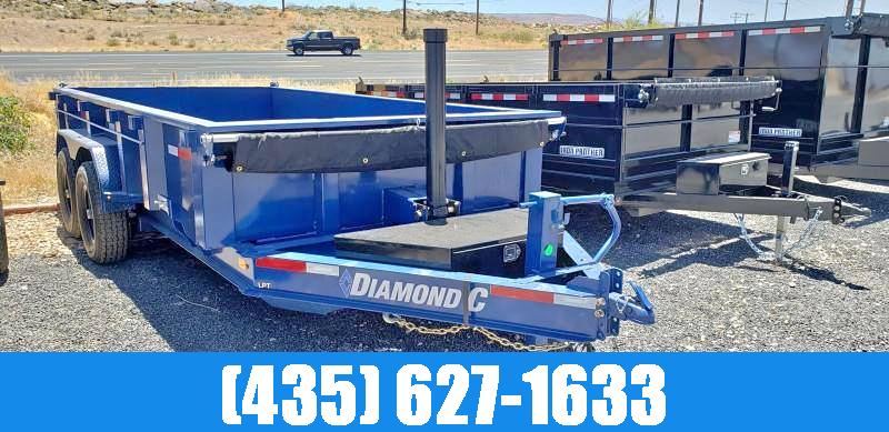 2021 Diamond C Trailers Diamond C LPT 7x14 Low Profile Dump Trailer Dump Trailer