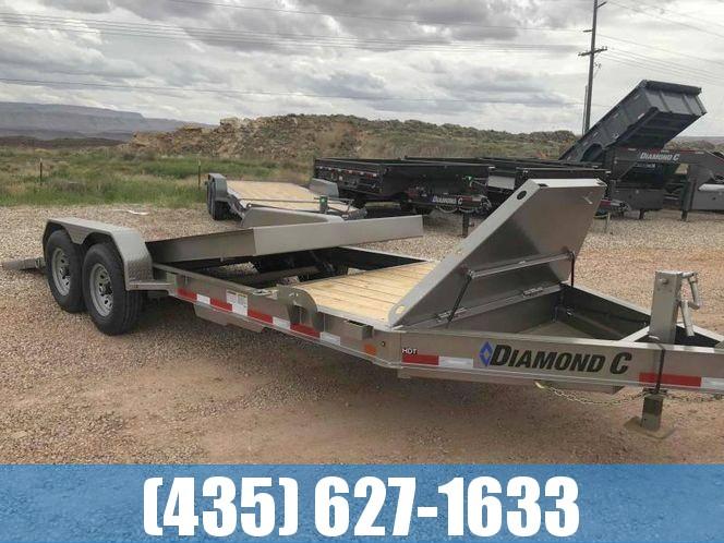 Diamond C 22' HDT Equipment Tilt Trailer