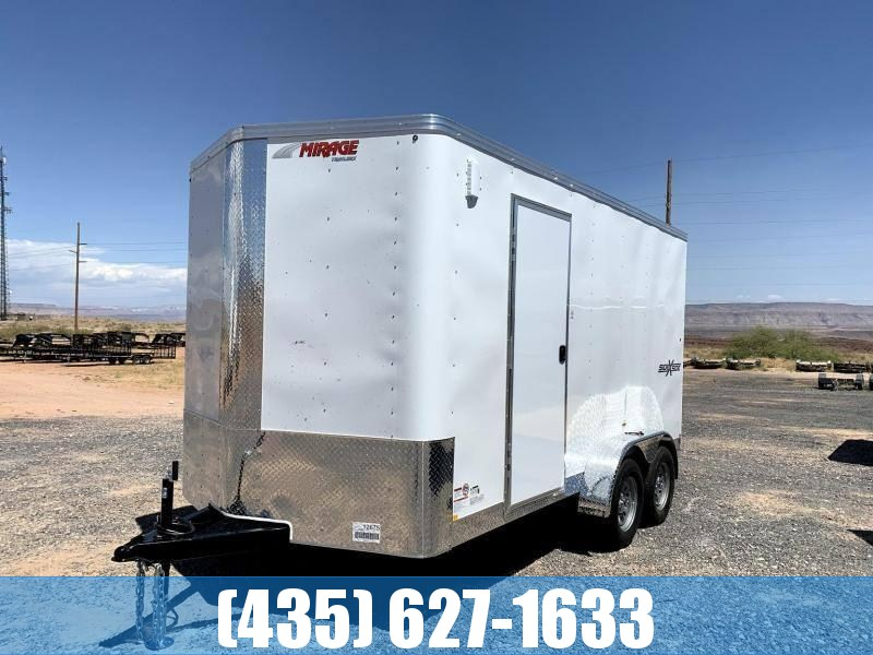 2021 Mirage 7x14 Side by Side Package Enclosed Cargo Trailer