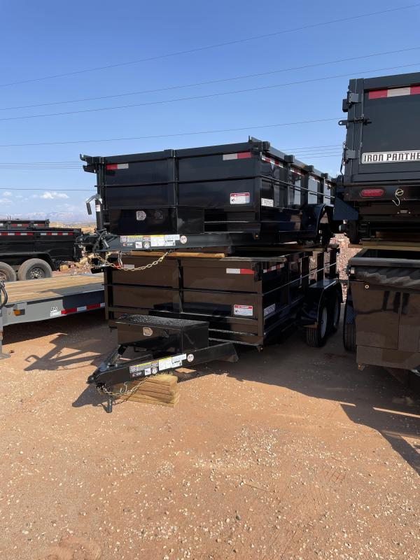 2022 Iron Panther 6x12x2 DT212 Utility Trailer