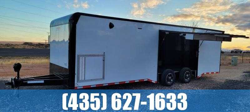 2021 Pace American Pursuit 28' Race Car Enclosed Trailer Enclosed Cargo Trailer