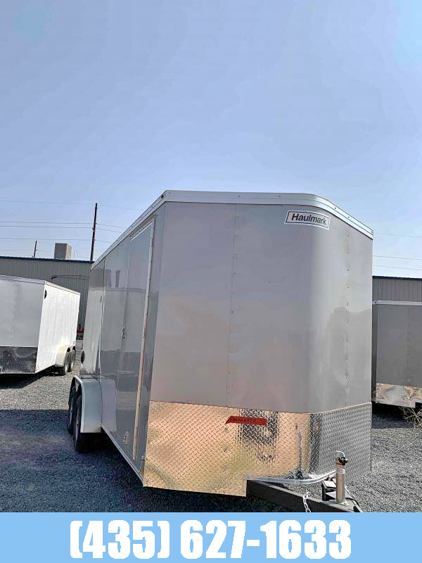 2021 Haulmark Transport 7X16 UTV Pkg Enclosed Cargo Trailer