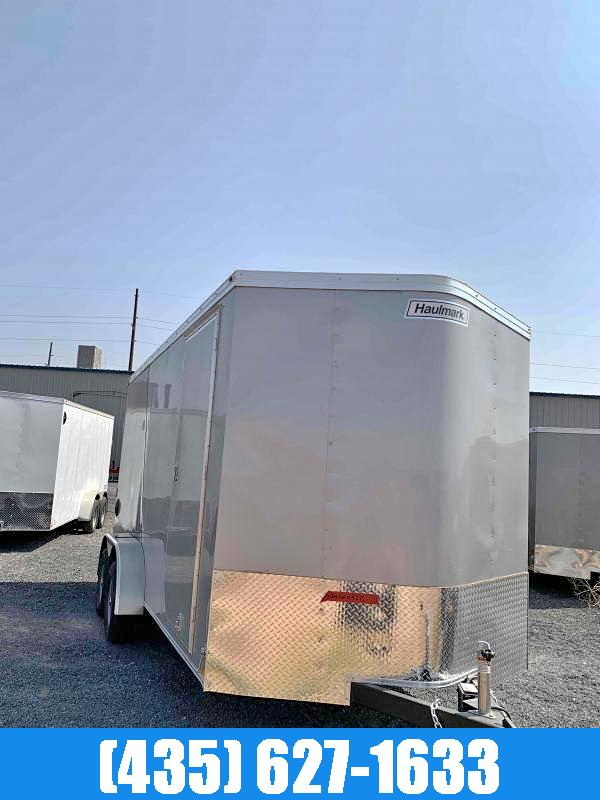 2021 Haulmark Transport 7X16 UTV Pkg Enclosed Cargo Trailer