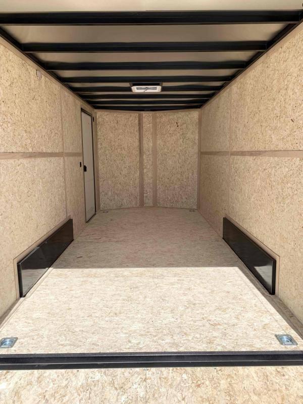 Charmac Stealth 7.5X14 Tandem Axle Enclosed Trailer
