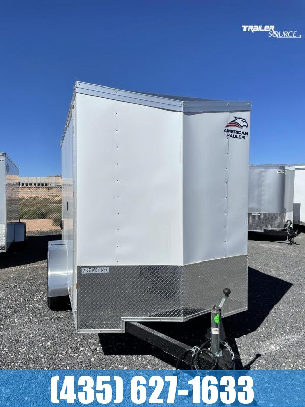 2022 American Hauler 6x12 TA2 Night Hawk Enclosed Cargo Trailer