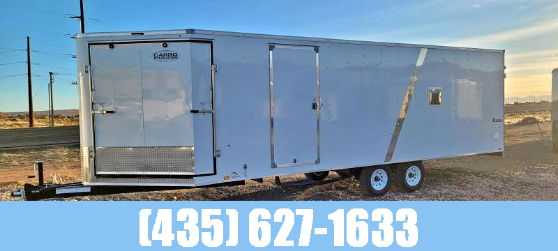 2021 Look Element Puresport 29' Deckover Snow / Auto Enclosed Cargo Trailer