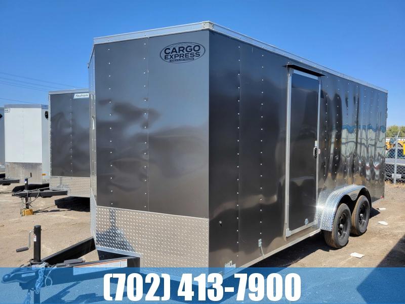 2022 Cargo Express 7.5X18 XLW UTV Enclosed Cargo Trailer