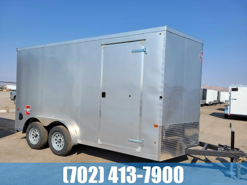 2022 Charmac 7.5x14 Stealth Enclosed trailer with Finished interior
