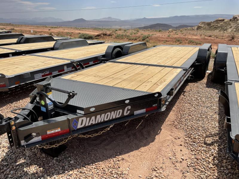 Diamond C HDT 7x20 Low Profile Heavy Duty Tilt Equipment Trailer