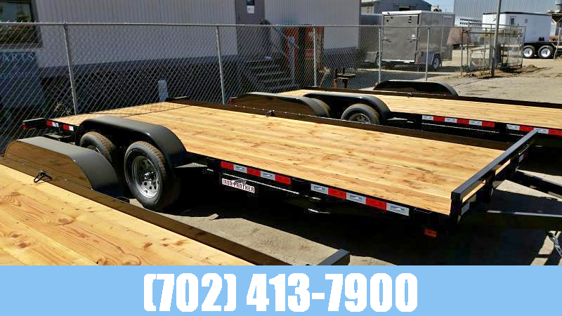 Iron Panther 7x20 Car Hauler Utility Trailer with Dovetail