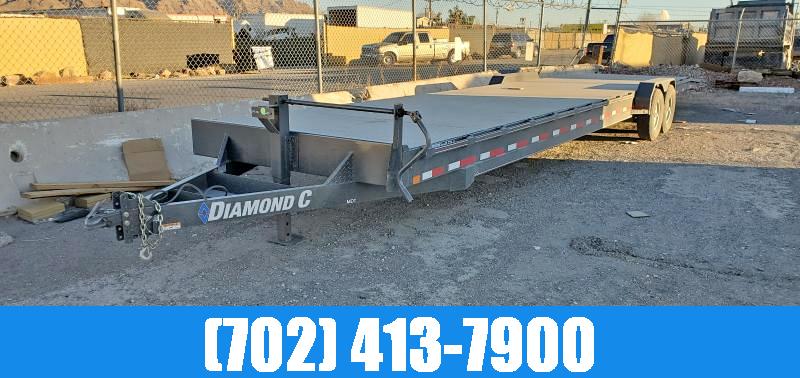 2021 Diamond C 7X38 STEEL DECK TWO CAR HAULER Utility Trailer