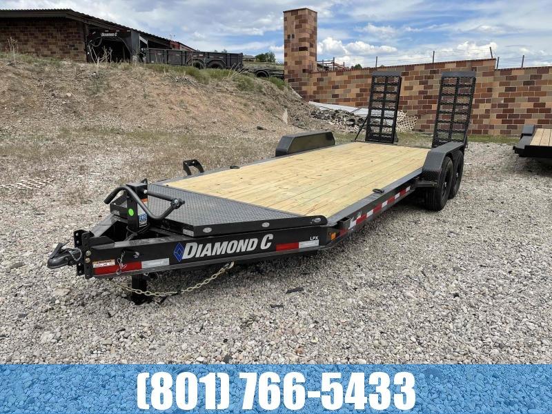 2021 Diamond C Trailers 7x20 Equipment Trailer