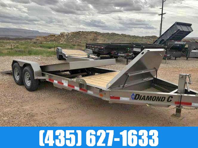 Diamond C 7x20 HDT Equipment Tilt Trailer