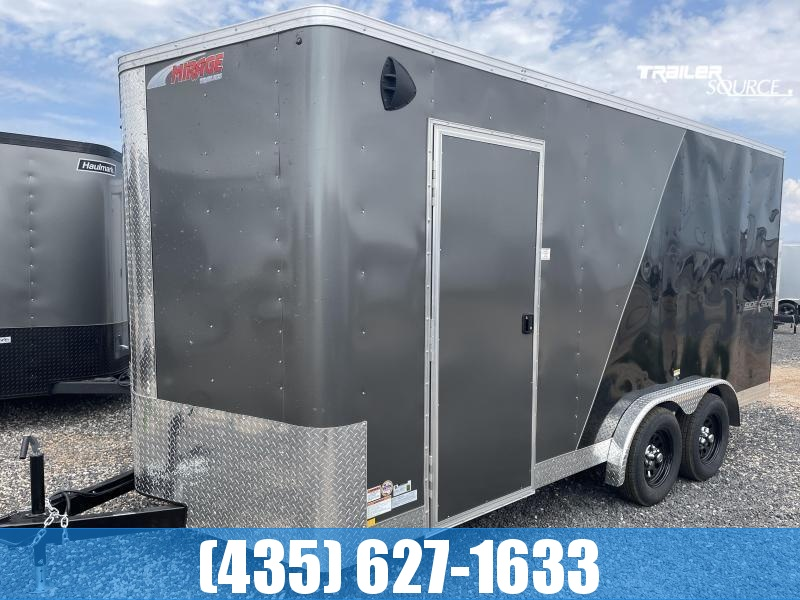 2022 Mirage Trailers Xpres 7.5x16 Side x Side Pkg. Enclosed Cargo Trailer