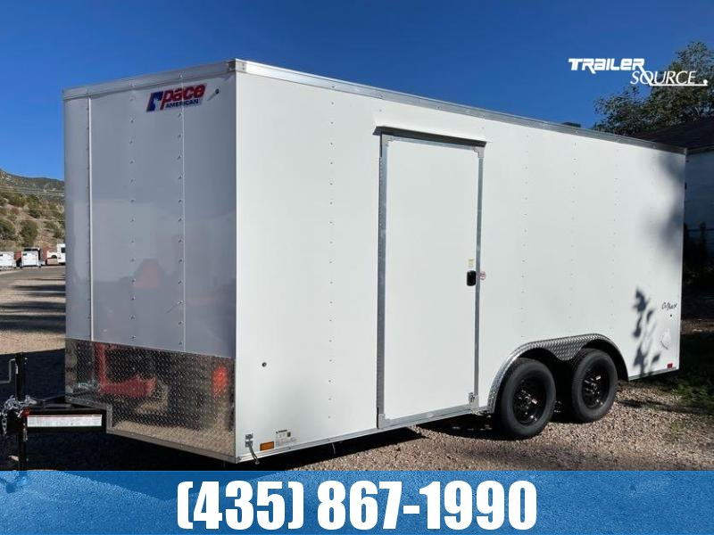 2022 Pace American OUTBACK 8.5X16 AUTO Enclosed Cargo Trailer #34171