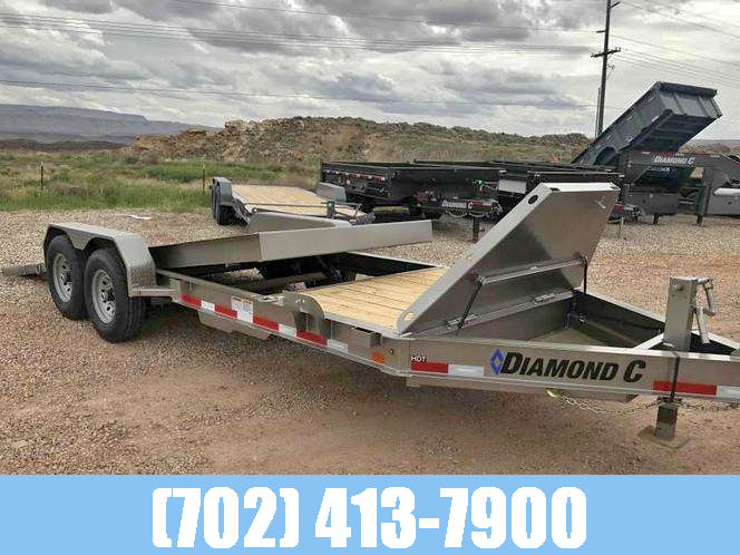 Diamond C 7x22 HDT Tilt Equipment Utility Trailer