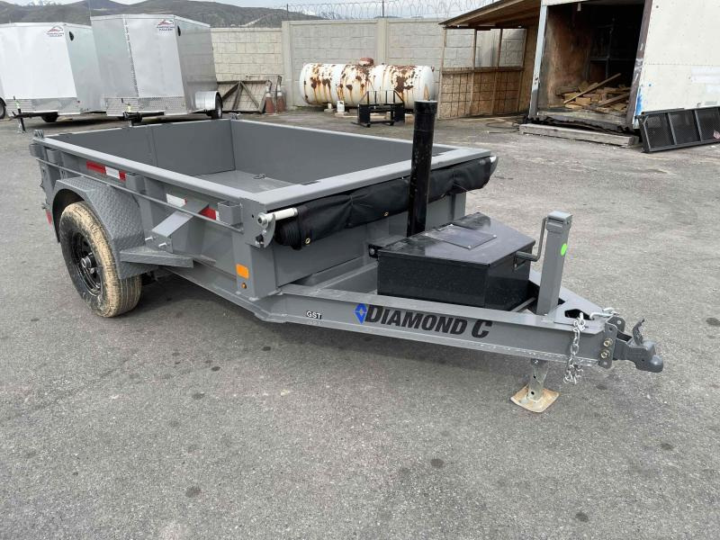 2021 Diamond C Trailers 5x8 Dump Trailer