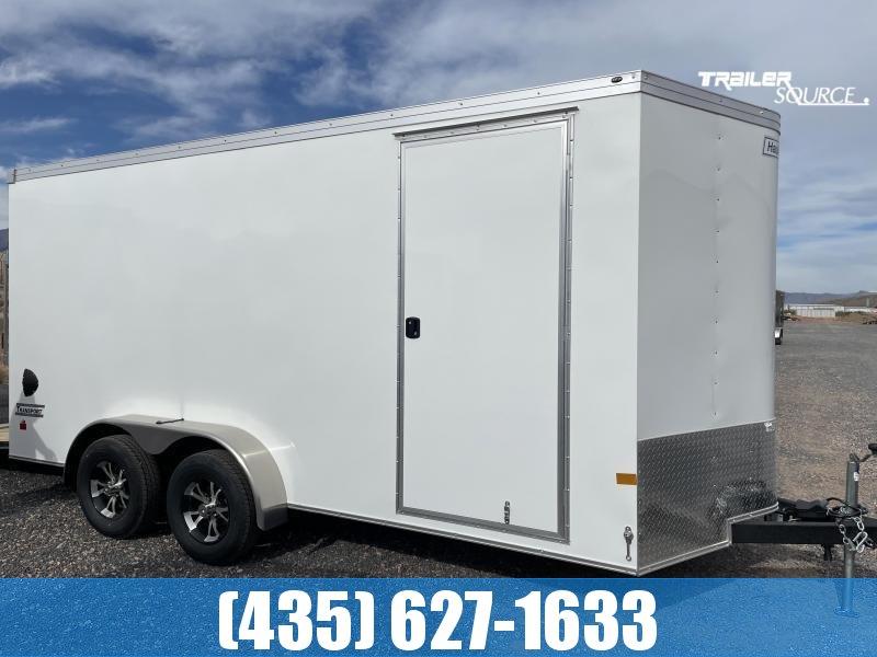 2022 Haulmark Transport 7X16 TA2 Enclosed Cargo Trailer