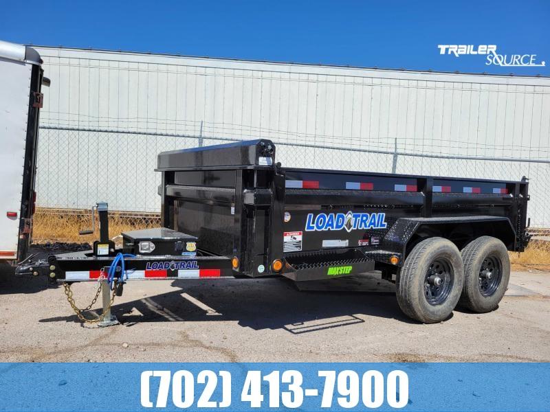 "NEW LOAD TRAIL 6x12 HD 10k Dump Trailer Scissor hoist 24"" sides"