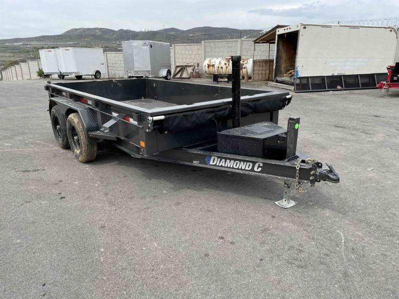2021 Diamond C Trailers 77x12 Dump Trailer
