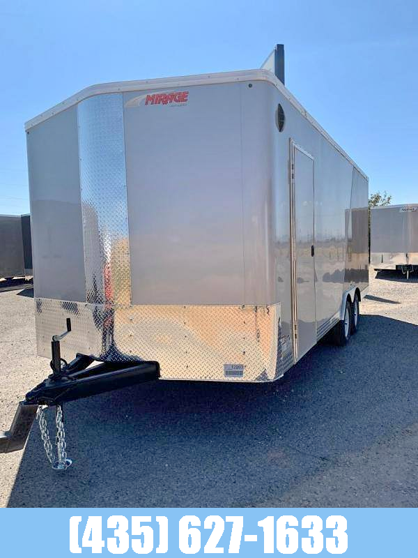 2021 Mirage Trailers 8.5x20 Xpress Side By Side Enclosed Cargo Trailer