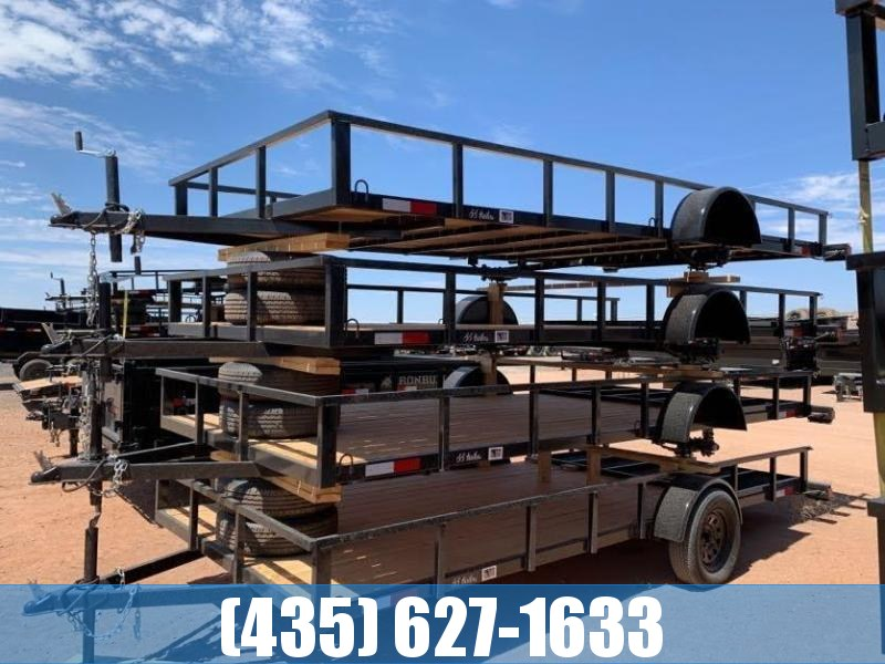 2021 7 Sons  7x16 Single Axle Utility Trailer with Gate